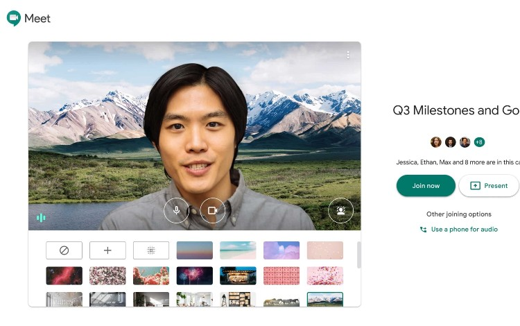 Tips dan Cara Ganti Background Google Meet