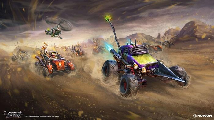 Heavy Metal Machines + Dirt Devil Pack
