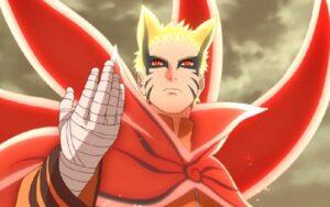 Naruto Dalam Mode Baryon