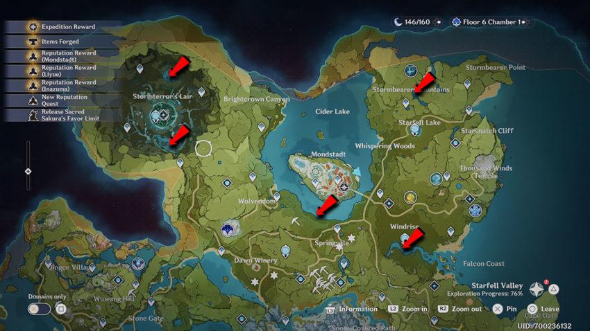 Lokasi Ikan Medaka, Rusty Koi dan Golden Koi di Genshin Impact