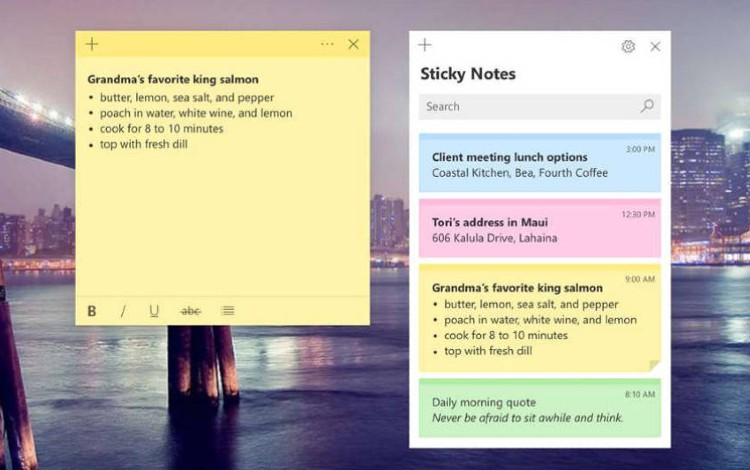 Cara Mengembalikan Catatan Sticky Note Yang Terhapus